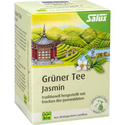 Grüner Tee Jasmin Bio Salus Filterbeutel  bei apo.com bestellen