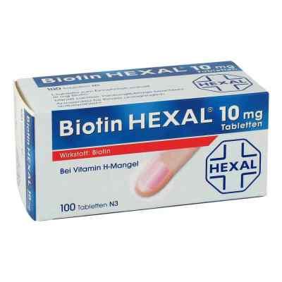 Biotin Hexal 10 mg Tabletten  bei apo.com bestellen