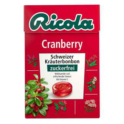 Ricola ohne Zucker  Box Cranberry Bonbons  bei apotheke-online.de bestellen