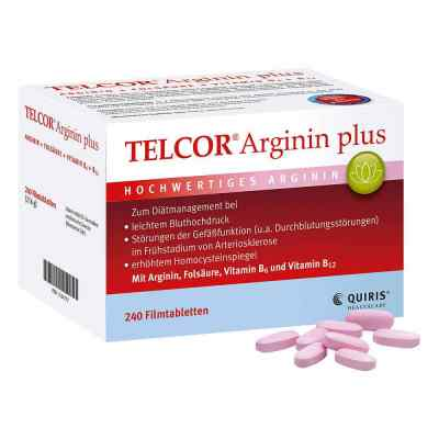Telcor Arginin plus Filmtabletten  bei apotheke-online.de bestellen