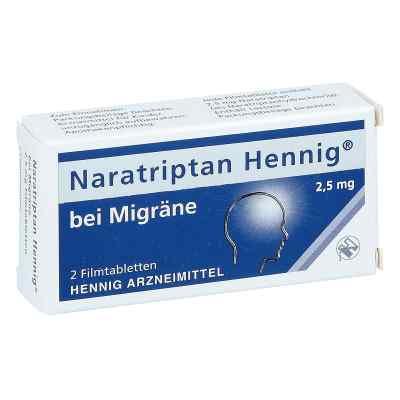 Naratriptan Hennig bei Migräne 2,5mg  bei apo.com bestellen