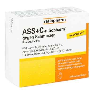 ASS+C-ratiopharm gegen Schmerzen  bei apotheke-online.de bestellen