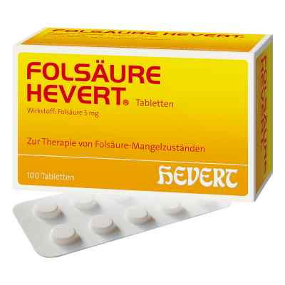 Folsäure Hevert Tabletten  bei apotheke-online.de bestellen