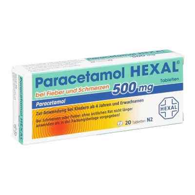 Paracetamol 500mg HEXAL bei Fieber und Schmerzen  bei vitaapotheke.eu bestellen