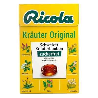 Ricola ohne Zucker  Box Kräuter Bonbons  bei apotheke-online.de bestellen