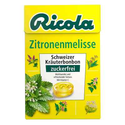 Ricola ohne Zucker  Box Zitronenmelisse Bonbons  bei apotheke-online.de bestellen