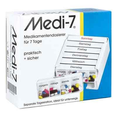Medi 7 Medikamenten Dosierer für 7 Tage  bei apo.com bestellen