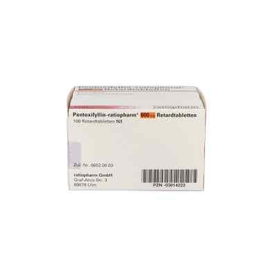 Pentoxifyllin-ratiopharm 600 mg Retardtabletten  bei apo.com bestellen