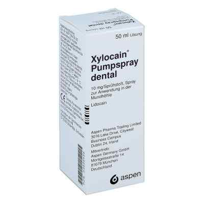 Xylocain Pumpspray Dental  bei apotheke-online.de bestellen