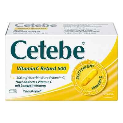 Cetebe Vitamin C Retardkapseln 500 mg  bei apo.com bestellen