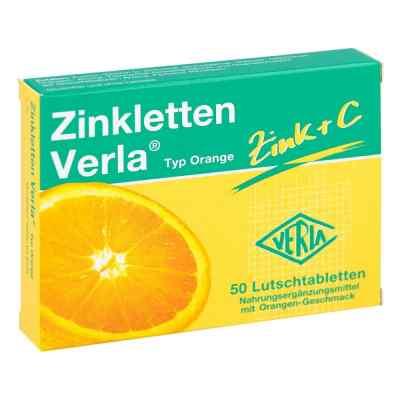 Zinkletten Verla Orange Lutschtabletten  bei vitaapotheke.eu bestellen