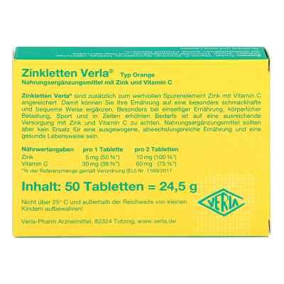 Zinkletten Verla Orange Lutschtabletten  bei apotheke-online.de bestellen
