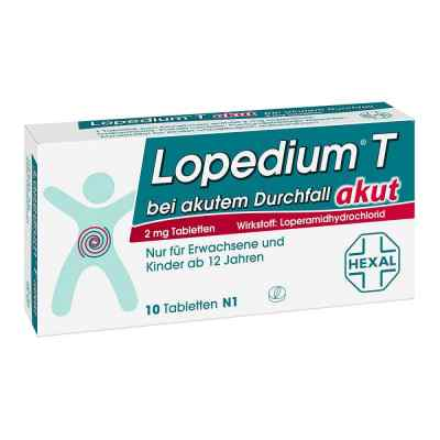 Lopedium T akut bei akutem Durchfall  bei vitaapotheke.eu bestellen