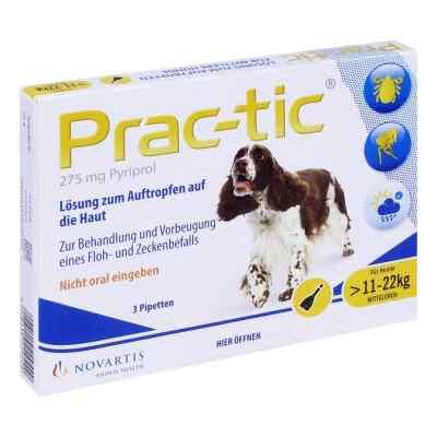 Prac tic für mittlere Hunde 11-22 kg Einzeldosispipetten   bei apo.com bestellen