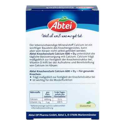 Abtei Knochenstark Calcium 600+d3 Tabletten  bei apotheke-online.de bestellen