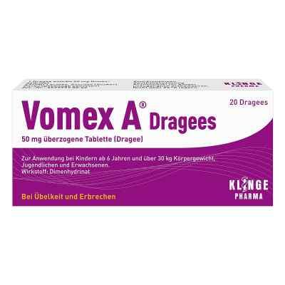 Vomex A Dragees  bei vitaapotheke.eu bestellen