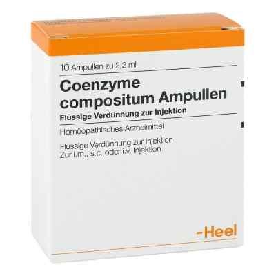 Coenzyme compositum Ampullen  bei apotheke-online.de bestellen
