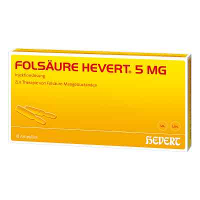 Folsäure Hevert 5 mg Ampullen  bei apotheke-online.de bestellen