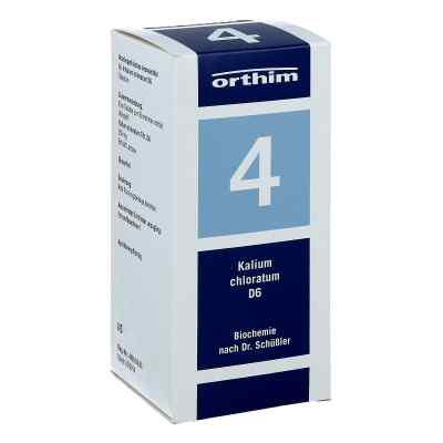 Biochemie Orthim 4 Kalium chloratum D 6 Tabletten  bei apotheke-online.de bestellen