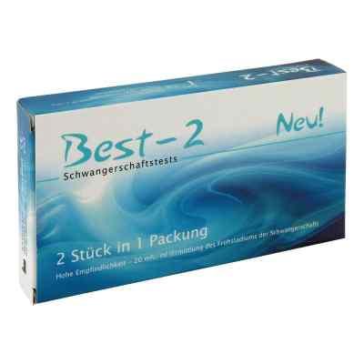 Best 2 Schwangerschaftstest  bei apotheke-online.de bestellen