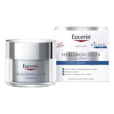 Eucerin Anti-age Hyaluron-filler Nacht Tiegel  bei vitaapotheke.eu bestellen