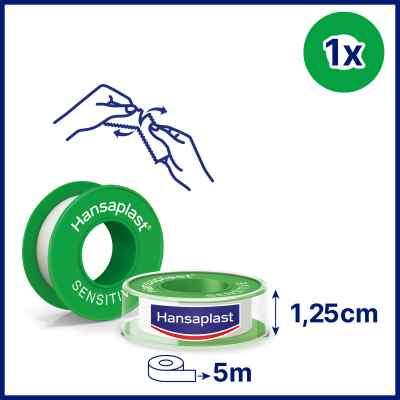Hansaplast Fixierpflaster sensitive 5mx1,25cm  bei apo.com bestellen