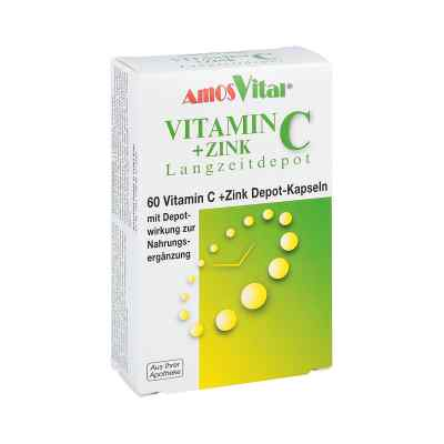 Vitamin C + Zink Depot Kapseln  bei apotheke-online.de bestellen