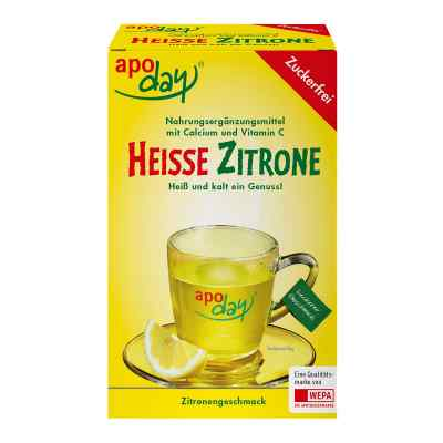 Apoday Heisse Zitrone Vitamine c und Calcium ohne Zucker Plv  bei apo.com bestellen