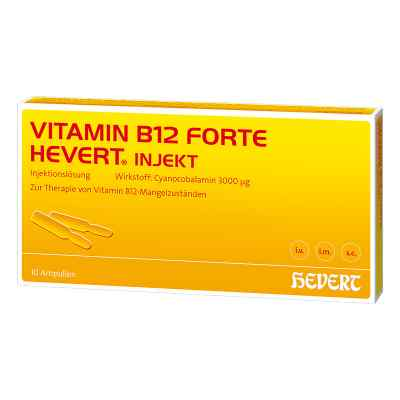Vitamin B12 Hevert forte Injekt Ampullen  bei apo.com bestellen