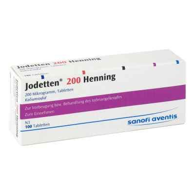 Jodetten 200 Henning 200 Mikrogramm  bei apo.com bestellen