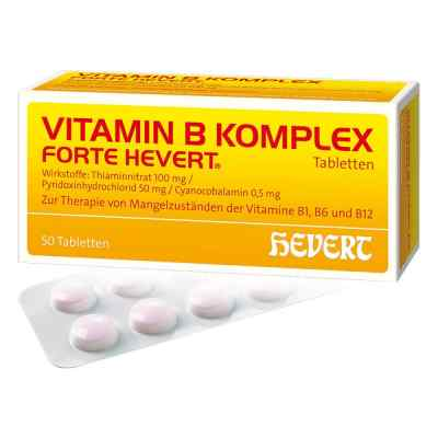 Vitamin B Komplex forte Hevert Tabletten  bei apo.com bestellen