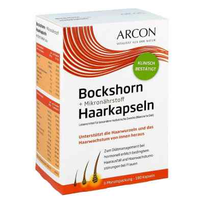 Bockshorn + Mikronährstoff Haarkapseln Tisane p  bei apotheke-online.de bestellen