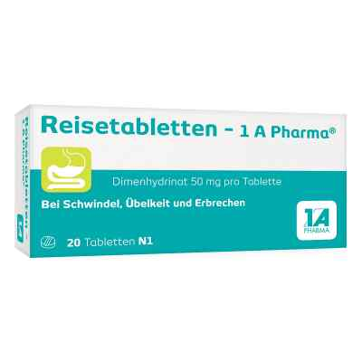 Reisetabletten-1A Pharma  bei apo.com bestellen