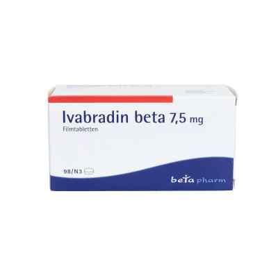 Ivabradin beta 7,5 mg Filmtabletten  bei apo.com bestellen