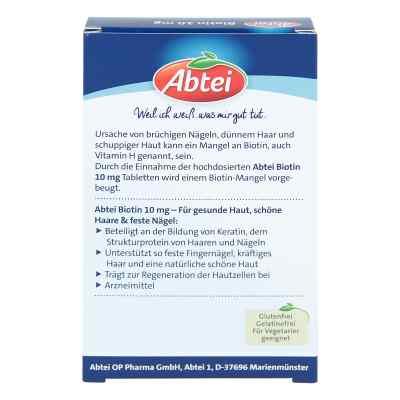 Abtei Biotin 10 mg Tabletten  bei apo.com bestellen