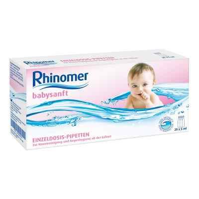 Rhinomer babysanft Meerwasser 5ml Einzeldosispipetten   bei vitaapotheke.eu bestellen