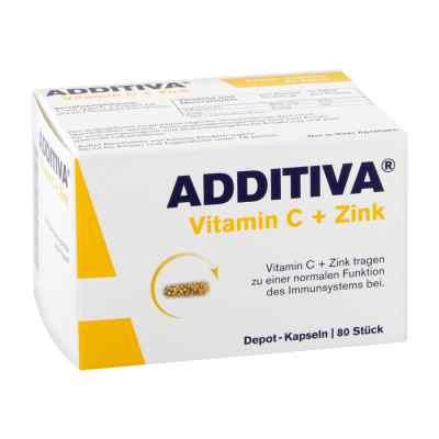 Additiva Vitamin C+zink Depotkaps.aktionspackung  bei vitaapotheke.eu bestellen