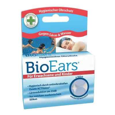 Bioears Silikon Ohrstöpsel antimikrobielle  bei apo.com bestellen