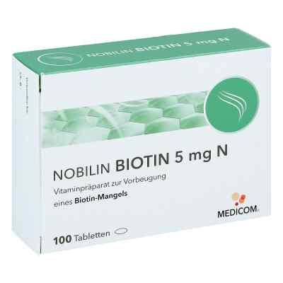 Nobilin Biotin 5 mg N Tabletten  bei vitaapotheke.eu bestellen