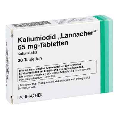 Kaliumiodid Lannacher 65 mg Tabletten  bei apo.com bestellen
