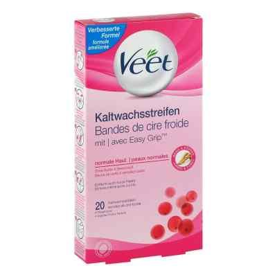 Veet Kaltwachs-streifen normale Haut  bei vitaapotheke.eu bestellen