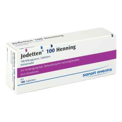 Jodetten 100 Henning 100 Mikrogramm  bei apo.com bestellen
