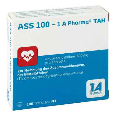 ASS 100-1A Pharma TAH  bei apotheke-online.de bestellen