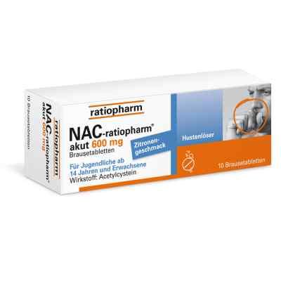 NAC-ratiopharm akut 600mg Hustenlöser  bei apo.com bestellen
