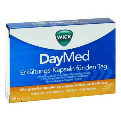 WICK DayMed Erkältungs-Kapseln für den Tag  bei apotheke-online.de bestellen
