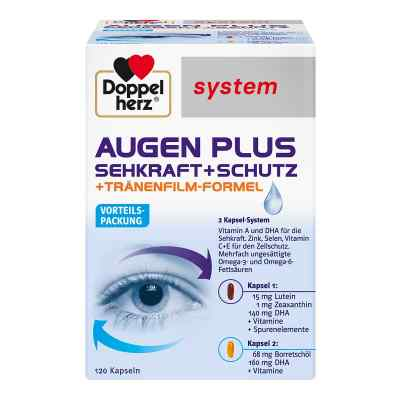 Doppelherz Augen plus Sehkraft+Schutz System Kaps.  bei vitaapotheke.eu bestellen