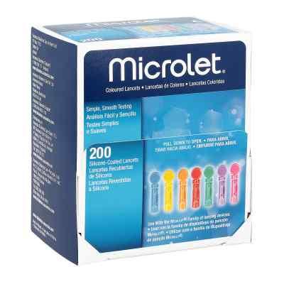 Microlet Lanzetten farbig  bei apotheke-online.de bestellen
