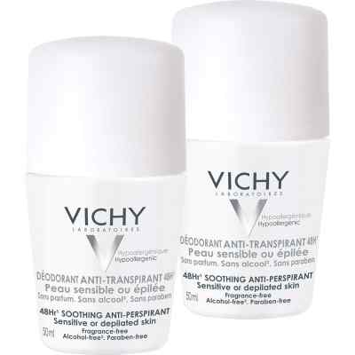 Vichy Deo Roll on Sensitiv Anti transparent 48h Doppelp.  bei apo.com bestellen