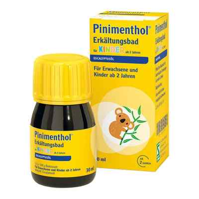 Pinimenthol Erkältungsbad für Kinder ab 2 Jahren Eucalyptus  bei apo.com bestellen