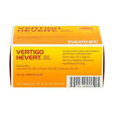 Vertigo Hevert Sl Tabletten  bei apo.com bestellen
